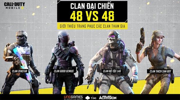 Call of Duty: Mobile VN - Clan Đại Chiến trở lại, 8 clan tranh đấu 3 ngày, tranh giải 60 triệu - Ảnh 2.