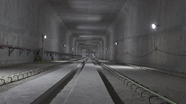 Ga ngầm Ba Son của tuyến Metro đang dần thành hình, đẩy nhanh tiến độ để giao mặt bằng cho dự án cầu Thủ Thiêm 2 - Ảnh 6.