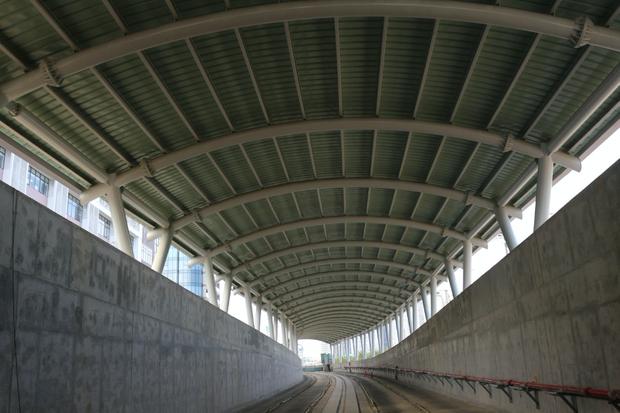 Ga ngầm Ba Son của tuyến Metro đang dần thành hình, đẩy nhanh tiến độ để giao mặt bằng cho dự án cầu Thủ Thiêm 2 - Ảnh 5.