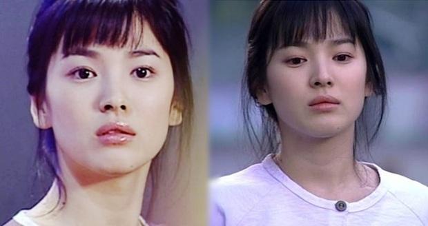 7 khoảnh khắc sáng tạo nữ thần của mỹ nhân màn ảnh Hàn: Song Hye Kyo vụt sáng nhờ mái thưa huyền thoại - Ảnh 13.