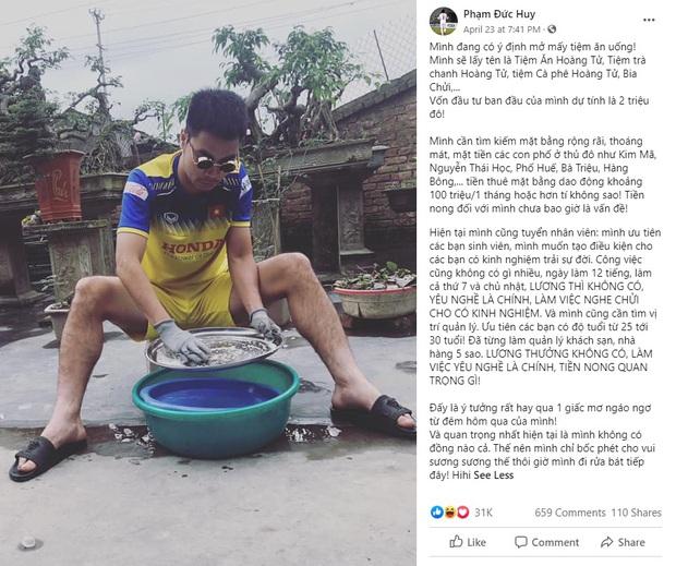 Đi tìm cầu thủ Việt Nam chất chơi nhất mạng xã hội: Gọi tên Hoàng tử và nhiếp ảnh gia không chuyên Tuấn Anh - Ảnh 4.