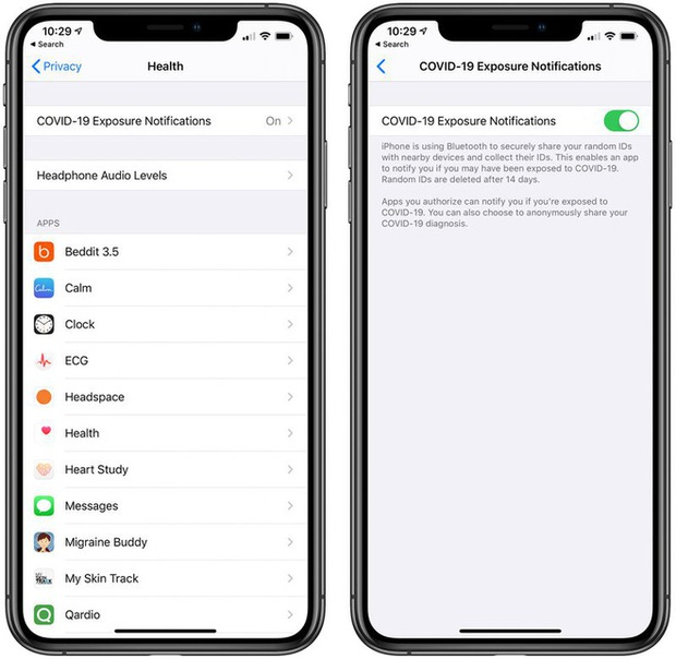 iOS 13.5 về làng đầy thú vị: Phát hiện COVID-19, mở khóa iPhone dễ hơn khi đeo khẩu trang - Ảnh 1.