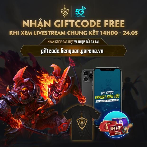 Liên Quân Mobile: Tất tần tật cách nhận 10 giftcode sự kiện Chung kết Đấu Trường Danh Vọng, game thủ không nên bỏ lỡ! - Ảnh 3.