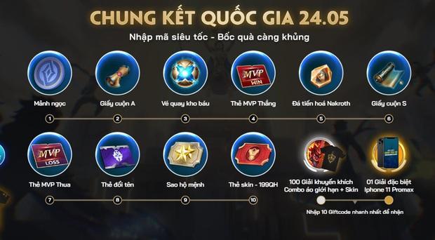 Liên Quân Mobile: Tất tần tật cách nhận 10 giftcode sự kiện Chung kết Đấu Trường Danh Vọng, game thủ không nên bỏ lỡ! - Ảnh 2.