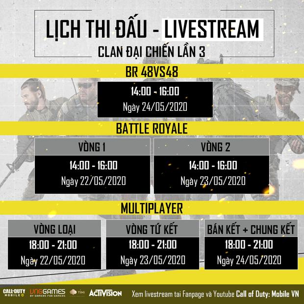 Call of Duty: Mobile VN - Clan Đại Chiến trở lại, 8 clan tranh đấu 3 ngày, tranh giải 60 triệu - Ảnh 3.