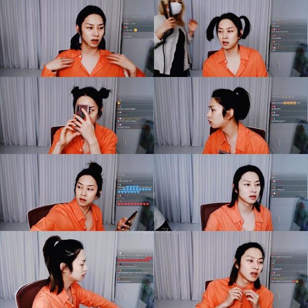 Đảm bảo khối gái xinh cũng phải hổ thẹn với skill tạo kiểu tóc của Kim Hee Chul: Đẳng cấp siêu sao vũ trũ nó phải khác! - Ảnh 3.