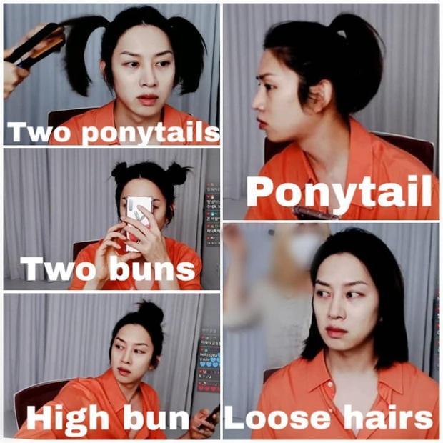 Đảm bảo khối gái xinh cũng phải hổ thẹn với skill tạo kiểu tóc của Kim Hee Chul: Đẳng cấp siêu sao vũ trũ nó phải khác! - Ảnh 2.