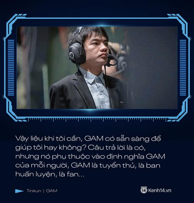 Phỏng vấn độc quyền Tinikun: GAM Esports đang xuống tinh thần rất lớn, tôi nghĩ GAM sẽ gặp nhiều khó khăn - Ảnh 5.