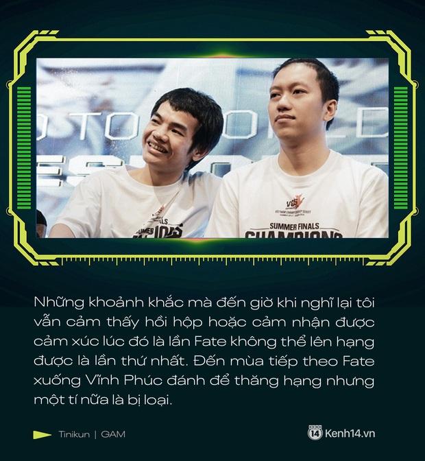 Phỏng vấn độc quyền Tinikun: GAM Esports đang xuống tinh thần rất lớn, tôi nghĩ GAM sẽ gặp nhiều khó khăn - Ảnh 3.