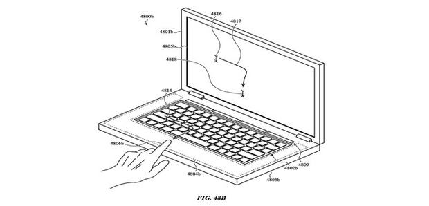 Những ý tưởng điên rồ của Apple nhằm mang tính năng cảm ứng lên MacBook - Ảnh 2.