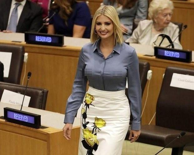 Từng bị chê ăn mặc phản cảm và thân hình tăng cân quá đà, Ivanka Trump mới đây gây bất ngờ với diện mạo lột xác - Ảnh 1.