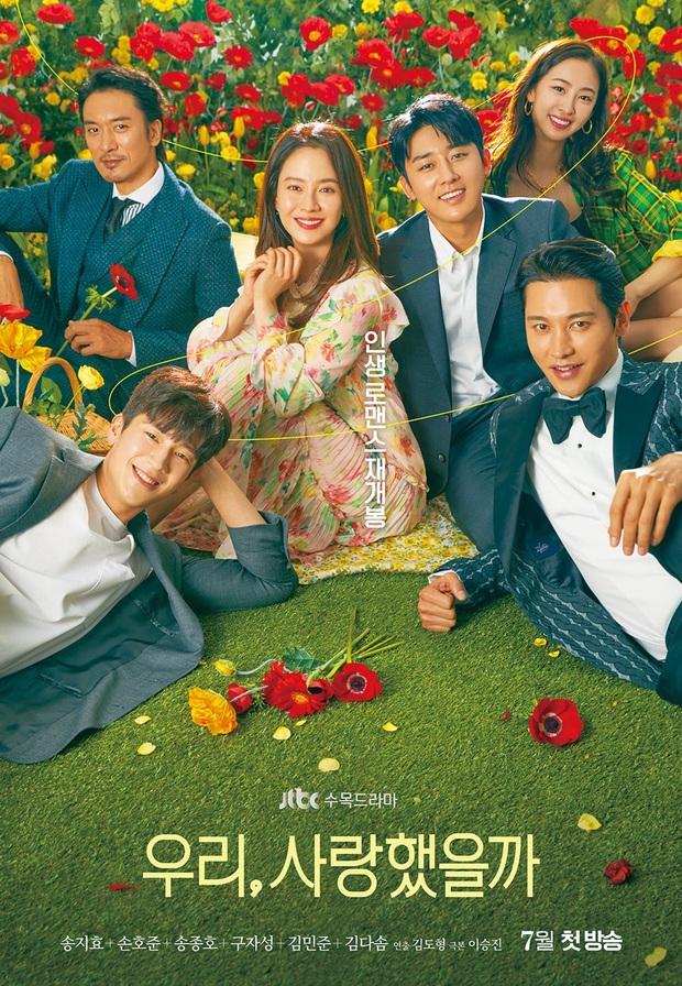 Mợ ngố Song Ji Hyo bắt trend gái ế Jang Nara, hóa mẹ đơn thân cặp kè cả anh rể G-Dragon ở phim mới Did We Love? - Ảnh 1.