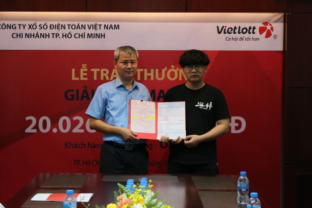 Nam sinh viên không đeo mặt nạ nhận độc đắc hơn 20 tỷ đồng tại Sài Gòn - Ảnh 3.