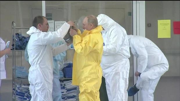 Tổng thống Nga Putin khẳng định dịch Covid-19 dần ổn định - Ảnh 1.