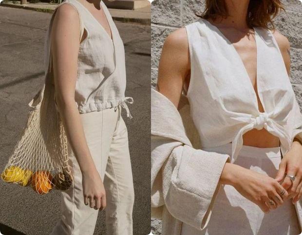 Ngoài váy lụa, phụ nữ Pháp còn mê mẩn váy áo thô đũi mộc mạc, dung dị mà phóng khoáng - Ảnh 11.