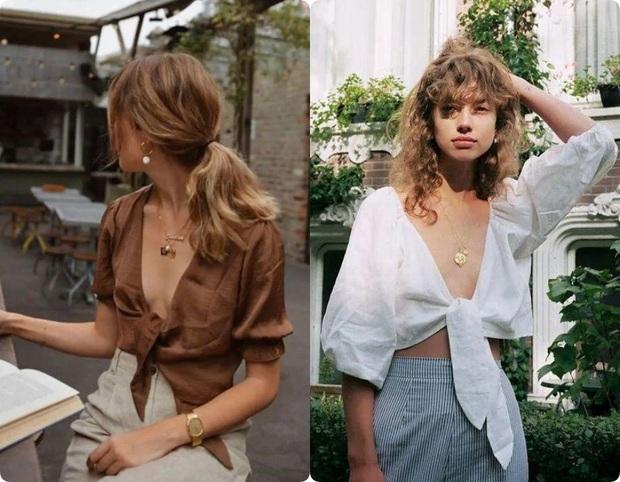 Ngoài váy lụa, phụ nữ Pháp còn mê mẩn váy áo thô đũi mộc mạc, dung dị mà phóng khoáng - Ảnh 12.
