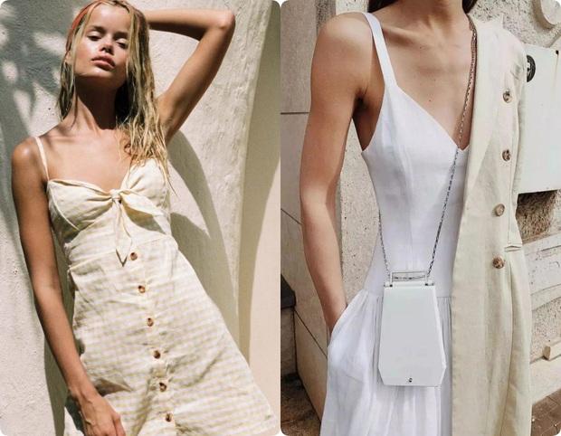 Ngoài váy lụa, phụ nữ Pháp còn mê mẩn váy áo thô đũi mộc mạc, dung dị mà phóng khoáng - Ảnh 5.