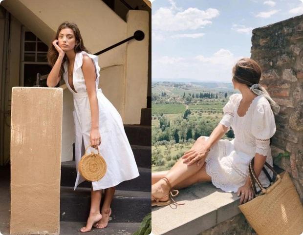 Ngoài váy lụa, phụ nữ Pháp còn mê mẩn váy áo thô đũi mộc mạc, dung dị mà phóng khoáng - Ảnh 7.
