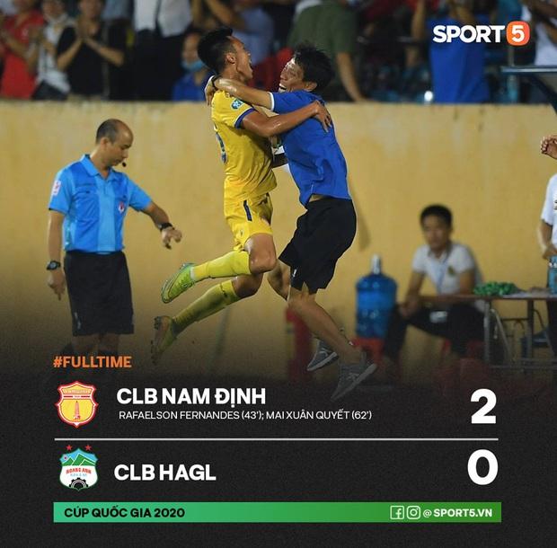 CLB Nam Định hạ thuyết phục HAGL 2-0 trong ngày bóng đá Việt Nam chính thức trở lại - Ảnh 5.