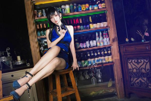 Chiêm ngưỡng bộ ảnh cosplay Tifa phong cách quý cô quầy rượu, nhìn sương sương cũng đủ say men - Ảnh 11.