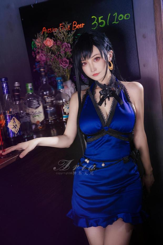 Chiêm ngưỡng bộ ảnh cosplay Tifa phong cách quý cô quầy rượu, nhìn sương sương cũng đủ say men - Ảnh 7.