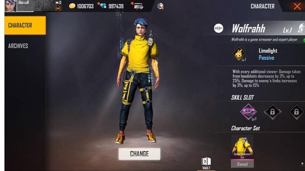 Free Fire ra mắt nhân vật mới là streamer siêu điển trai, nhưng bộ kỹ năng cực dị mới là điều gây xôn xao - Ảnh 2.