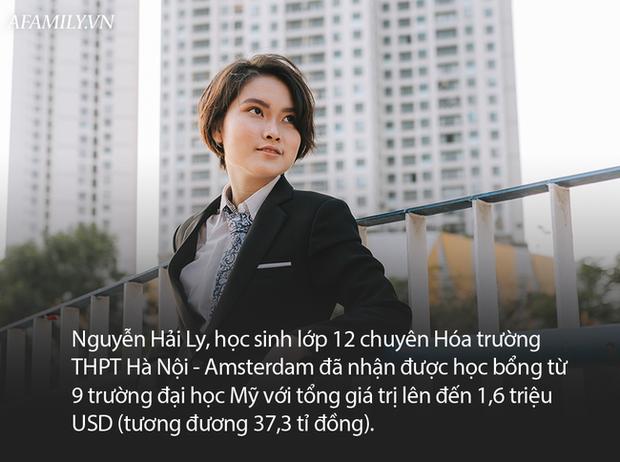 Nữ sinh chuyên Hóa Hà Nội - Amsterdam giành học bổng từ 9 trường đại học Mỹ, có trường hỗ trợ lên tới hơn 7 tỷ đồng - Ảnh 1.