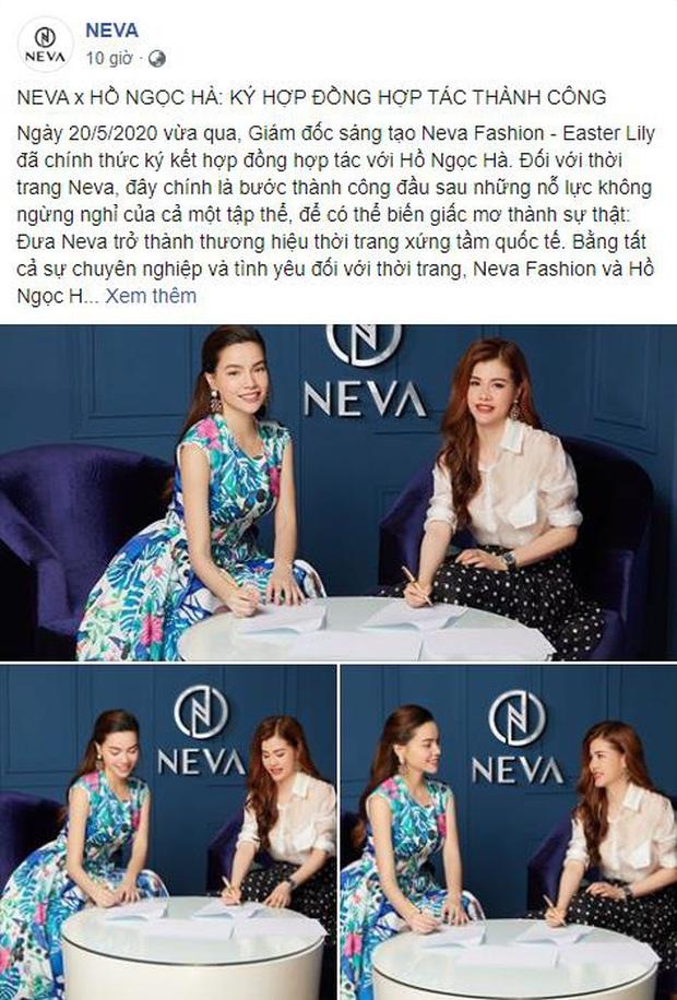 Giữa tâm bão mang bầu, Hồ Ngọc Hà gây bất ngờ lớn khi ký hợp đồng với thương hiệu thời trang Việt - Ảnh 2.