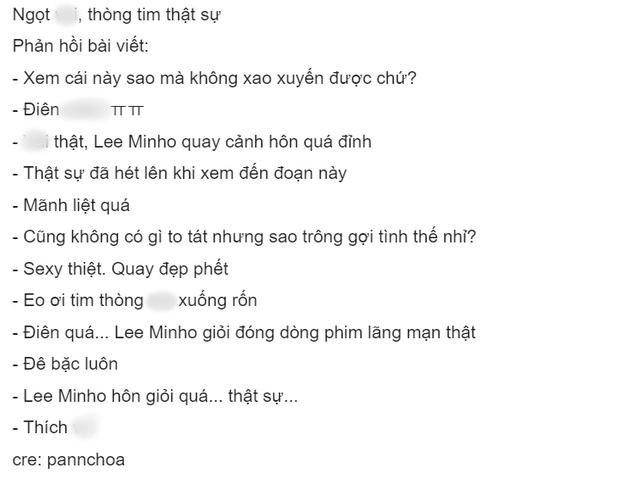 Netizen sang chấn tâm lí vì nụ hôn cổ của Lee Min Ho và Kim Go Eun trong Quân Vương Bất Diệt: Mị xem mà thòng tim thực sự! - Ảnh 3.