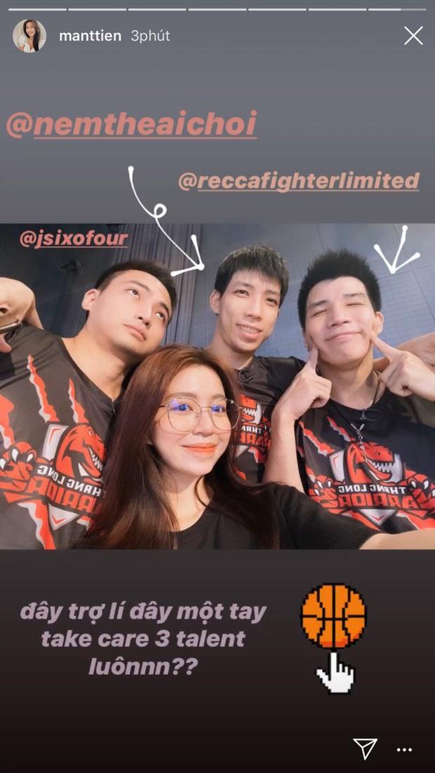 Mẫn Tiên tiết lộ vai trò của mình trong hội 3 anh em hot boy bóng rổ kiêm luôn tổng tài: Có bạn trai như này lãi ghê! - Ảnh 1.