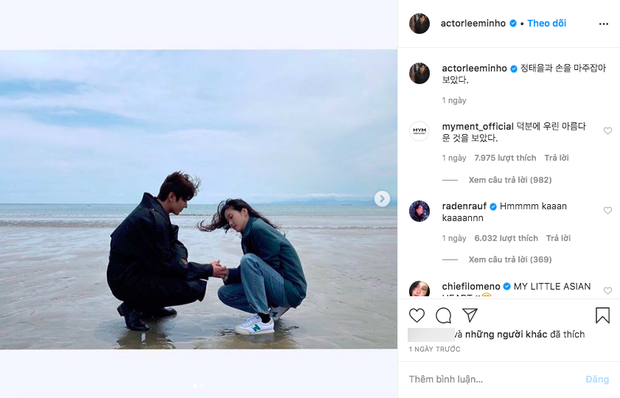 1 ngày trước cảnh nóng giường chiếu gây sốt, Lee Min Ho và Kim Go Eun công khai đăng cùng bức ảnh đặc biệt lên Instagram - Ảnh 3.