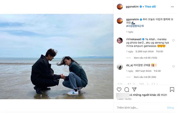 1 ngày trước cảnh nóng giường chiếu gây sốt, Lee Min Ho và Kim Go Eun công khai đăng cùng bức ảnh đặc biệt lên Instagram - Ảnh 2.