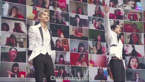 TVXQ! nói Xin chào fan Việt, biểu diễn cực sung tại concert online với loạt sân khấu đã mắt; được hậu bối NCT Dream giao nhiệm vụ đầy ý nghĩa - Ảnh 26.