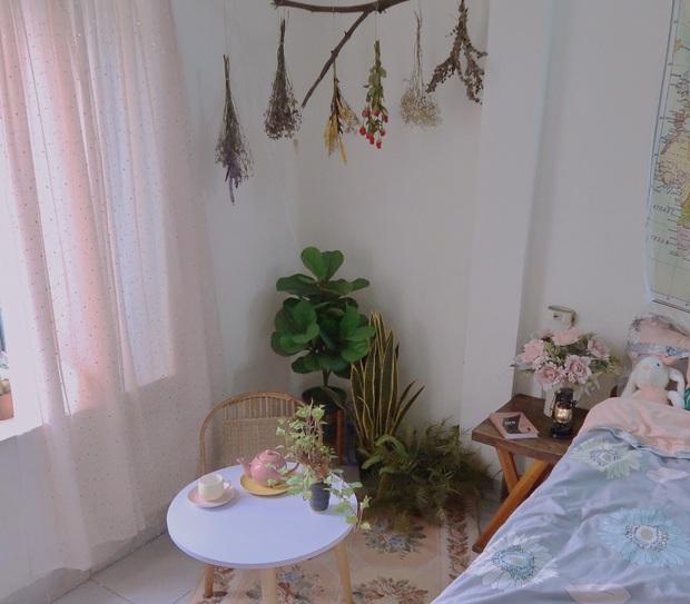 Cô gái 28 tuổi vượt qua cú shock chia tay bằng cách cải tạo nhà: Buồn gì cũng qua, chỉ buồng ngủ đẹp là bên ta mỗi ngày - Ảnh 5.