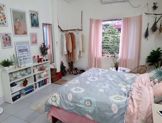 Cô gái 28 tuổi vượt qua cú shock chia tay bằng cách cải tạo nhà: Buồn gì cũng qua, chỉ buồng ngủ đẹp là bên ta mỗi ngày - Ảnh 2.