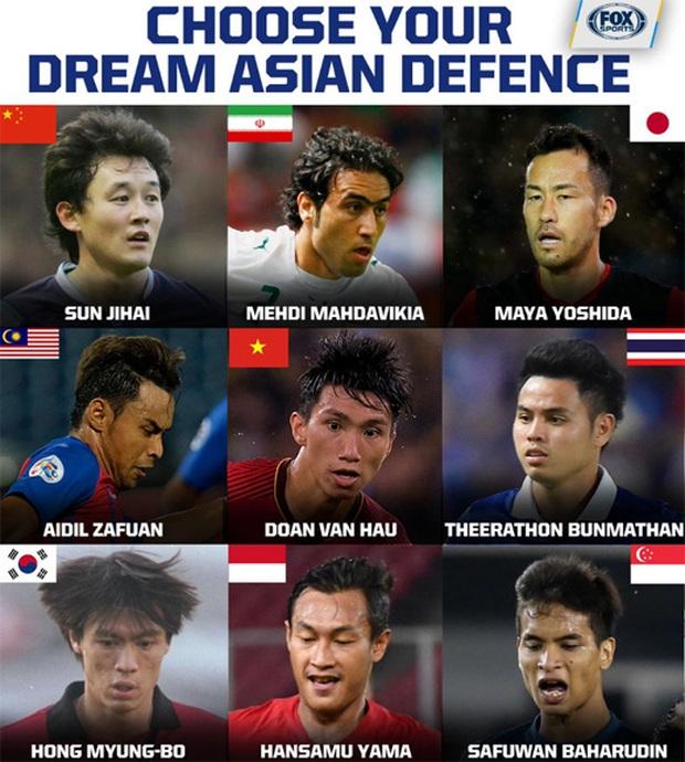 Văn Hậu được chọn vào top hậu vệ hay nhất châu Á, fan Thái liền chế ảnh phản bác cực gắt: Anh ta đã có đĩa bạc như Theerathon chưa? - Ảnh 2.
