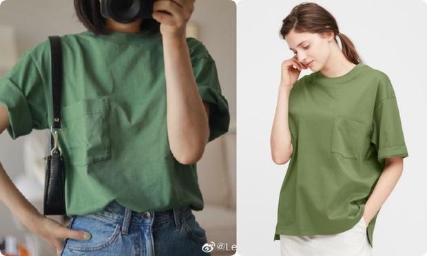 Thử 8 dáng áo phông cơ bản của Uniqlo, cô nàng này còn khuyến mại thêm vài cách mặc chanh sả hay ho - Ảnh 12.