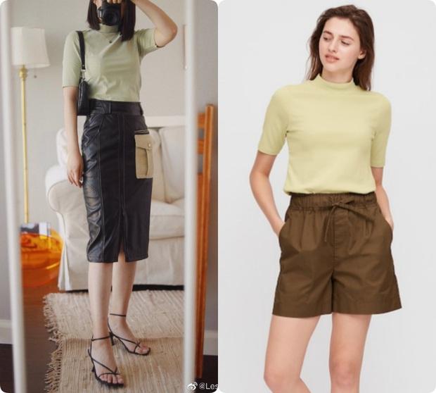 Thử 8 dáng áo phông cơ bản của Uniqlo, cô nàng này còn khuyến mại thêm vài cách mặc chanh sả hay ho - Ảnh 16.