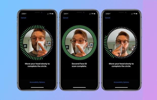 FaceID trong mùa dịch Covid-19 đã cho thấy màn trình diễn vượt trội của nhận diện khuôn mặt 3D từ Apple - Ảnh 3.