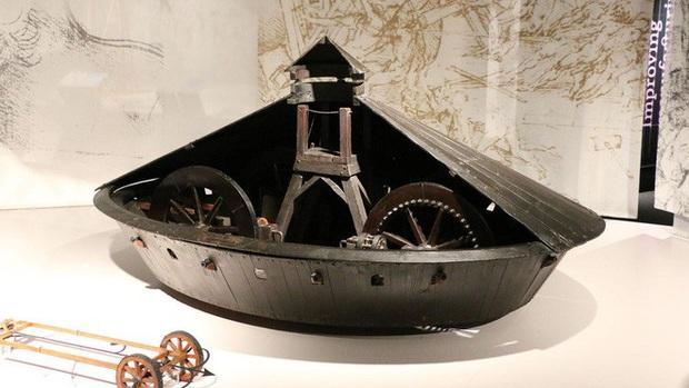 Những phát minh thể hiện trí tuệ siêu phàm của Leonardo da Vinci - Ảnh 3.