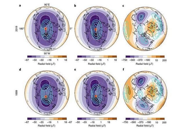 Những thay đổi lớn đang diễn ra bên trong lòng Trái Đất khiến cực từ phía bắc di chuyển dần về phía Siberia - Ảnh 4.
