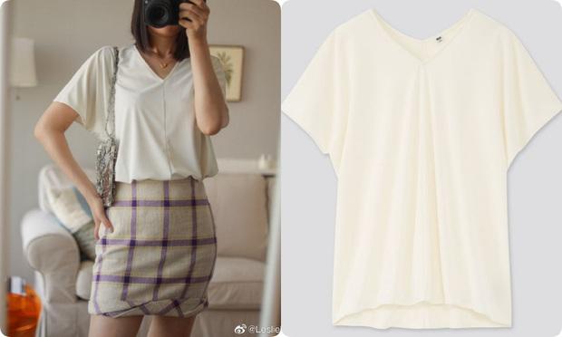 Thử 8 dáng áo phông cơ bản của Uniqlo, cô nàng này còn khuyến mại thêm vài cách mặc chanh sả hay ho - Ảnh 6.