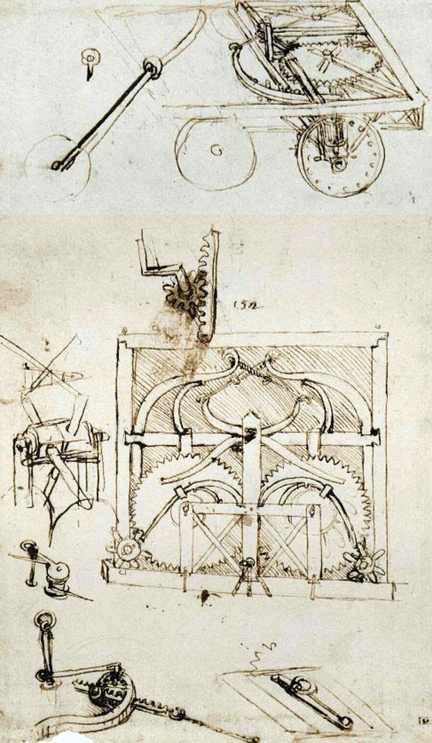 Những phát minh thể hiện trí tuệ siêu phàm của Leonardo da Vinci - Ảnh 7.