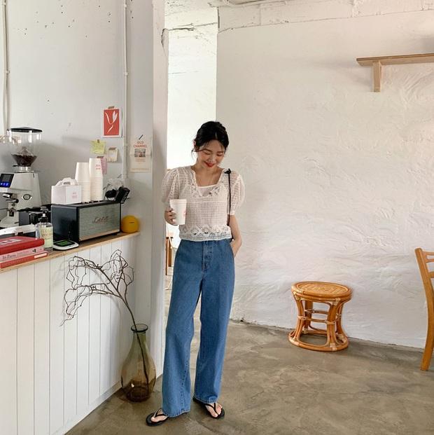 Học Seulgi, HuynA và Jisoo cách diện quần jeans giúp hack dáng hiệu quả, thậm chí là kéo chân dài tới nách - Ảnh 10.