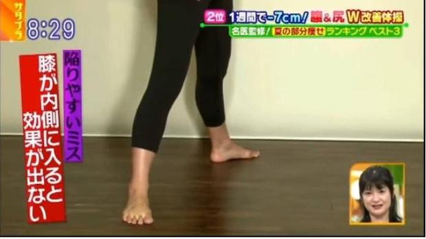 Lại có thêm 2 bài tập từ đài TBS Nhật Bản giúp bạn có thể giảm tới 7cm vòng eo chỉ trong 1 tuần - Ảnh 10.