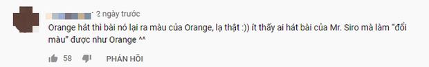 Bất ngờ phản ứng dành cho Orange khi cover hit mới của Hoà Minzy: được khán giả đánh giá đã vượt qua được cái bóng của Mr. Siro? - Ảnh 6.