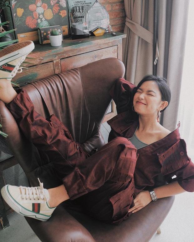 Gucci tặng Hà Hồ giày bệt giữa lúc tin bầu bí được xác nhận, quả là món quà ý nghĩa đúng thời điểm mà! - Ảnh 3.