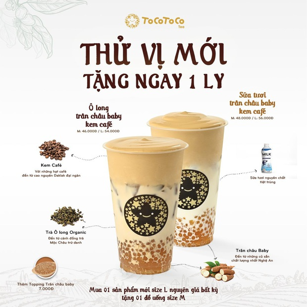 """""""5 điều hấp dẫn không thể chối từ"""" trong bộ đôi kem cà phê của thương hiệu trà sữa ToCoToCo - Ảnh 4."""