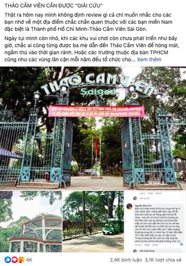 """Thảo Cầm Viên – địa điểm đang dần bị lãng quên bởi giới trẻ Sài Gòn hiện đại: Nếu không """"giải cứu"""" kịp thời, có lẽ nơi này sẽ mãi là ký ức! - Ảnh 6."""