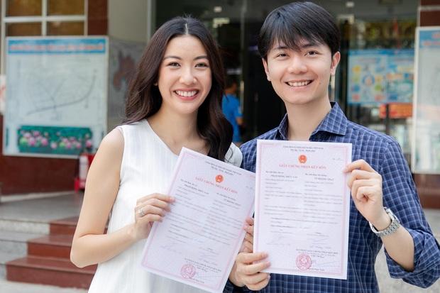 Thúy Vân cùng ông xã đi đăng ký kết hôn, đã hoàn thành những công đoạn chuẩn bị cho đám cưới - Ảnh 2.